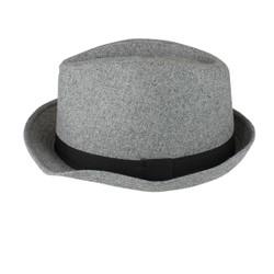 Fedora Hat Light Grey