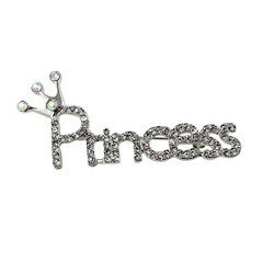 Princess Crystal Brooch