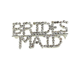 Bridesmaid Crystal Brooch