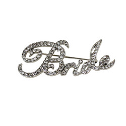 Bride Crystal Brooch