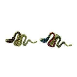 Snake Adjustable Ring Set of 2