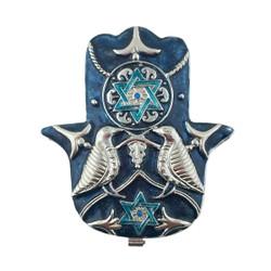 Hamsa Blessings Trinket box Bejeweled