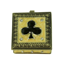 Ace of Clubs Trinket Box