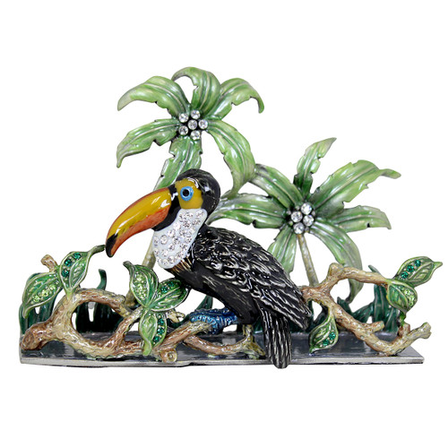 Cristiani Desktop Toucan Card Holder