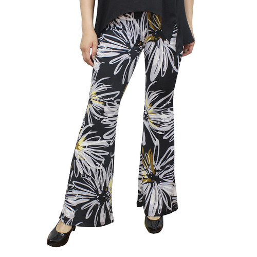 Abstract Daisies Bell Bottoms