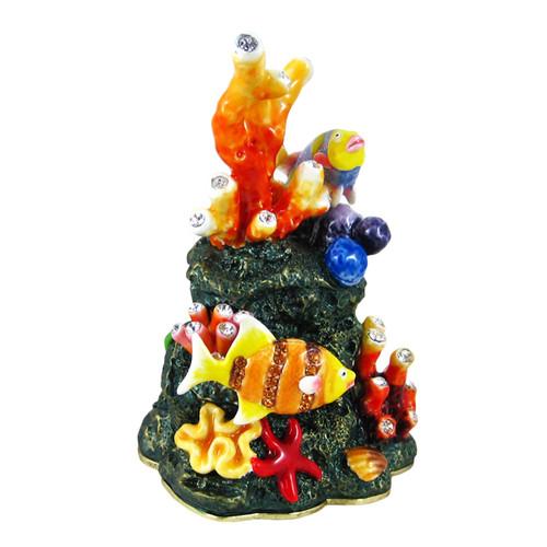 Underwater World Trinket Box Bejeweled
