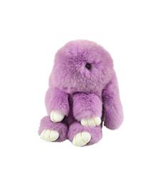 Rexy Rabbit Keychain Purse Charm  Purple