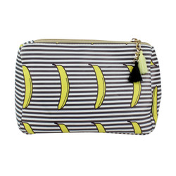 Banana Print Multiuse Bag Tassels