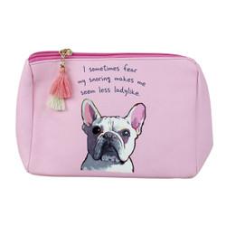 Funny Pug Print Multiuse Bag Tassels