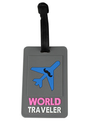 World Traveler Luggage Tag