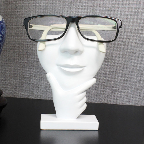 Thinker eyeglass Stand