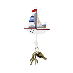 sailboat wall hook