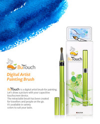 SilstarButouchBrush Pen Stylus Digital Touch Pen For Android iPhone iPad Tablet Touch Screens Green