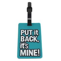 Put it Back Luggage Tag