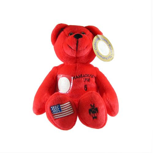 Massachusetts Quarter Bear