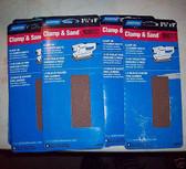 "3-2/3"" x 9"" 150 Grit 1/3 Sanding Sheets (60) sheets Norton"