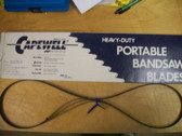 """53-3/4"""" 24 TPI Capewell Portaband Bandsaw Blades 3 Pack B5324 - FREE SHIPPING"""