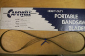 """53-3/4"""" 10 TPI Capewell Portaband Bandsaw Blades 3Pack - FREE SHIPPING"""