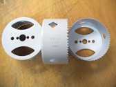 "4-1/4"" (108mm) Hole Saw 1-7/8"" Depth -- Lot of 14 Hole Saws - Free Shipping!"