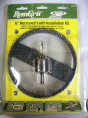 """6"""" Recessed Light Installation Kit RemGrit GRL602 - FREE SHIPPING"""