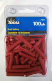#22 - #16 Red Butt Splice Ideal 770317, 100pk, Lot of 1
