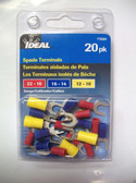 Spade Terminal Assortment Ideal 770301, 20pk, Lot of 9