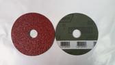"""4-1/2"""" x 7/8"""" Fiber Resin Sanding Disc Norton, 25 pack"""