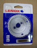 "2-1/8"" Lenox Hole Saw Bit Bi-Metal, 1-1/2"" Depth, K34L - FREE SHIPPING"