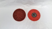 "3"" Surface Prep Discs Roloc Type R Medium, Lot of 50"