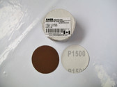 "2"" PSA Mini Sanding Discs A/O, No Hole Keen 1,500 Grit - Lot of 50 - Free Shipping"