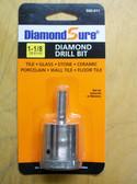 "1-1/8"" Diamond Hole Saw For Tile DiamondSure"