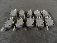10 PACK ON-ON MICRO SWITCH SPDT 5 AMP 125/250 VAC 1 1/8 X 5/8 EC-284