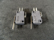 2 PACK ON-ON MICRO SWITCH SPDT 5 AMP 125/250 VAC 1 1/8 X 5/8 EC-284