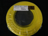 22 GAUGE 2 CONDUCTOR 100FT YELLOW ALARM WIRE STRANDED COPPER HOME SECURITY CABLE