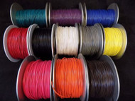 22 GAUGE GPT WIRE PICK 4 COLORS 100 FT EA PRIMARY AWG STRANDED 100% OFC COPPER
