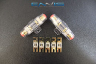 4 6 8 10 GAUGE MINI ANL FUSE HOLDERS (2) W (5) 80 AMP FUSES AFC MIDI FUSES HIGH