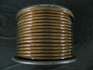 4 GAUGE BLACK WIRE 25 FT PRIMARY POWER GROUND STRANDED AWG CABLE POSITIVE NEW