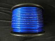 4 GAUGE BLUE WIRE PER 5 FT PRIMARY POWER GROUND STRANDED AWG CABLE POSITIVE NEW