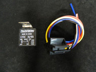 5 PACK 30/40 AMP RELAY HEAVY DUTY WITH WIRE HARNESS 12 VOLT 5 PRONG SPDT BOSCH