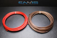 8 GAUGE WIRE 10 FT 5 RED 5 BLACK AWG CABLE ENNIS ELECTRONICS POWER GROUND AMP