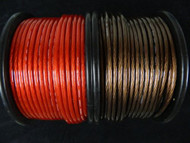 8 GAUGE WIRE 10 FT 5 RED 5 BLACK AWG CABLE POWER GROUND STRANDED PRIMARY AMP CAR