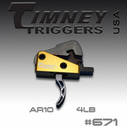 Timney 671: AR-10 SK Small pin 4Lbs. Pull
