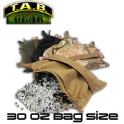 Tab Gear 30oz Zipper: Zipper Style Rear Bag 30oz