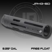 """JP JPHG-5D: JP Free Floating Modular Hand Guard - 9.25"""" OAL - Matte Black"""