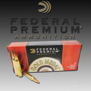 Federal GM223M: Gold Medal Match 223 69gr Matchking 20ct/Box