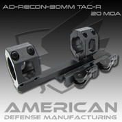 American Defense AD-RECON: 30mm Scope 20 MOA w/Tactical Levers