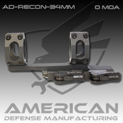 American Defense AD-RECON: 34mm 0 MOA