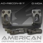 American Defense AD-RECON:-S 1 Inch Scope 0 MOA