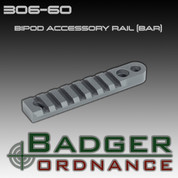 Badger Ordnance 306-60: Bipod Accessory Rail (BAR)