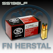 FN Herstal SS198LF: 5.7X28mm 27gr Green Tip Hollow Point 50/Box